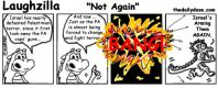 oyzilla mashup cartoon caption comic strip humor pic for oyvey.co.il