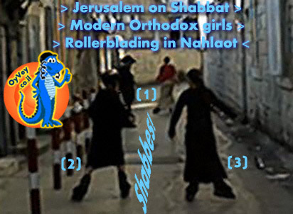 Jerusalem Nahlaot Modern Orthodox Blader Girls