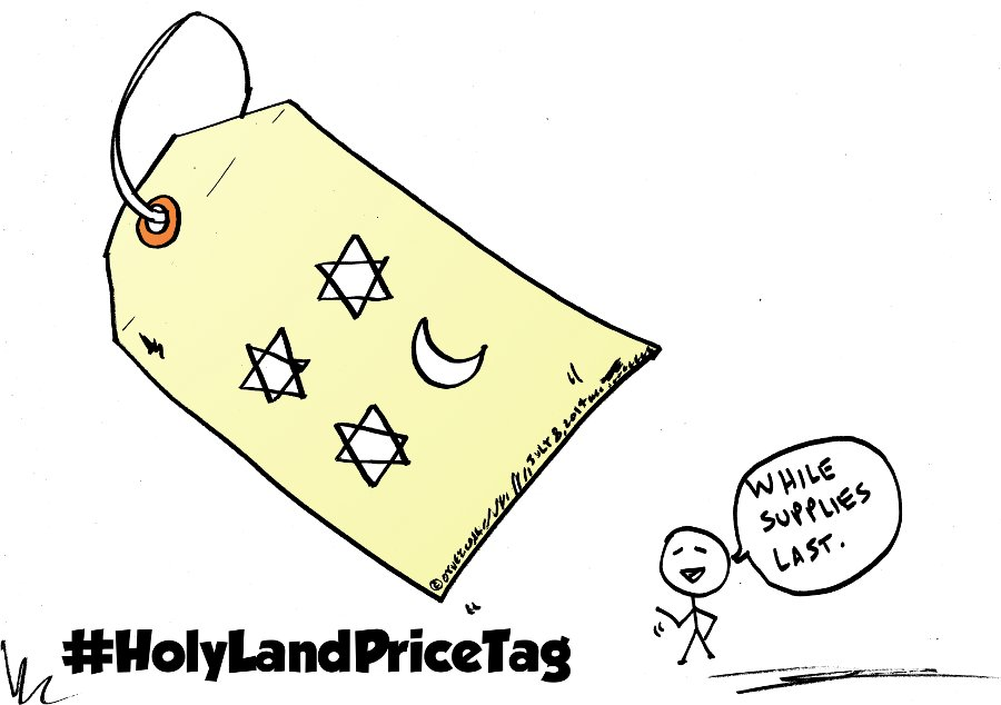Holy Land Price tag Political Webcomic